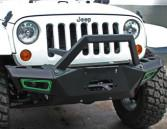 Best Durable Steel 2007 Jeep Wrangler Bumpers / Front And Rear Bumpers CE Certificate wholesale