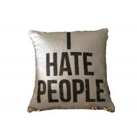 Best Wholesale Printing Personalized Logo I Heat People Pillow Cases For Sofa or Car Decoration wholesale