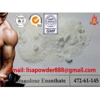Raw Steroid Powders CAS No 521-12-0 , Drostanolone Enanthate For Steroid Cycle