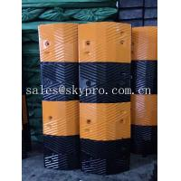 Best Reflective rubber speed hump Molded Rubber Products road speed ramp wholesale
