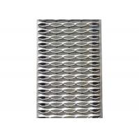 China Heavy Duty Walkway Channel Grip Strut Perforated Metal Plank Grating 5 Diamonds on sale