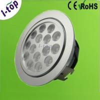 Best Aluminium Alloy 15w 1300lm Recessed LED DownLight Fixture for Light Boxes 350mA IP20 wholesale