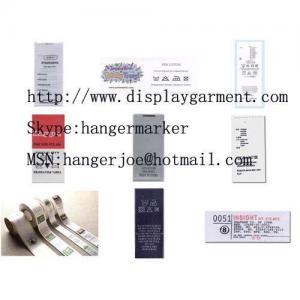 Best Printed garment labels,printed labels,clothing labels wholesale