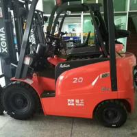 Best Electric AC Motor Battery Powered Forklift 2 Ton Capacity Safety Design wholesale