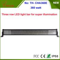 Best 360w 25200lm three row LED work light bar with spot, flood or combo beam types for choice wholesale