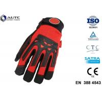 Best Nitrile Mens Safety Hand Gloves Comfortable Fit Dexterous Durable Impact Protection wholesale