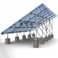 Best 60m/s Solar Panel Ground Mounting Systems For Photovoltaic PV Array SGS Approved wholesale