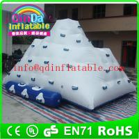 Best Water park game inflatable climbing iceberg for lake climb iceberg inflatable water sports wholesale