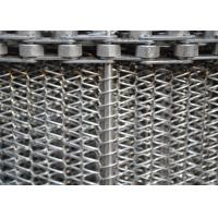 Best High Strength Wire Mesh Conveyor Belt , Flat Flex Spiral Conveyor Belt wholesale