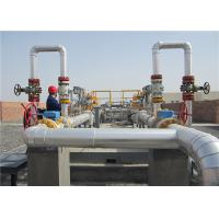 China Customized Natural Gas Equipment Pressure Control And Metering Gas Regulator Station on sale