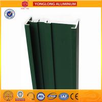 Best Square Green Powder Coated Aluminum Alloy Extrusion With Strong Stability wholesale