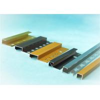 Buy cheap Polishing Aluminium Trim Strip For Ceramic Border , 0.7mm - 2.0mm Thickness from wholesalers