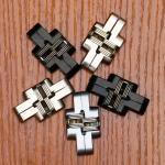 Best 180 Degree Zinc Alloy Invisible Folding Door Cross Hidden Hinges wholesale