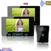 China long working life abrasion resistant wireless peephole colour video door phone on sale