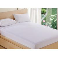 China Cool Polyurethane Double Size Mattress Cover Dust Mites Zippered wholesale