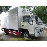China Light Sea Food Special Purpose Truck  Truck 3 Tons Isuzu Refrigerated Truck on sale