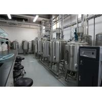 Buy cheap UHT Milk Processing Plant With Pillow Pouch Packages 1000LPH For Flavor Milk product