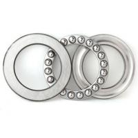 Best Thrust ball bearings 51200 with two chrome steel washers and a bronze ball complement wholesale