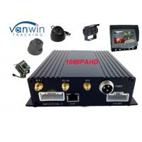 Best GPS 3G Wi-Fi HD Mobile DVR 4 Camera SD Card for Fleet Management wholesale