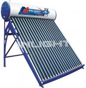 250L galvanized steel low pressure vacuum tube solar water heater