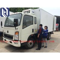 Best Mini Light Duty Commercial Trucks Refrigerator 8 Ton For Meat , Milk And Cola Transport wholesale