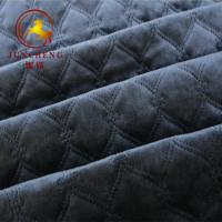 Best 3 layers soft and warm ultrasonic fabric with cotton filling wholesale