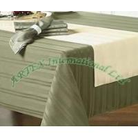 Buy cheap Polyester Satin Jacquard Tablecloth from wholesalers