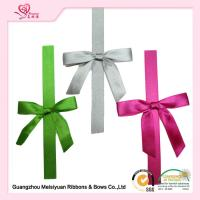 Best Double Face Tape Pre Made Ribbon Bows Customized Color diy gift bow wholesale