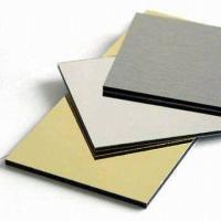 Buy cheap PE coated Aluminum plastic composite panel from wholesalers