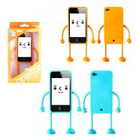 Best Lady Cute Cell Phone Protective Cases For iPhone , Robot Phone Case wholesale