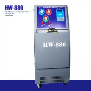 Best R134a Recharge LCD Automotive AC Machines Refrigerant Recovery Systems wholesale
