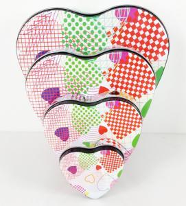 Best Metal Heart Tin Boxes wholesale