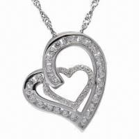 Best Silver Pendant, Customized Colors Welcomed wholesale