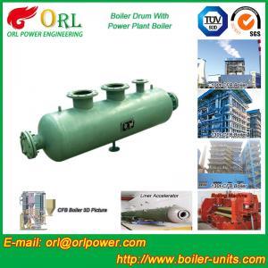 Buy cheap Coal Fired CFB Boiler Drum High Strength , Water Tube Boiler Drum 100 T from wholesalers