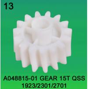 Best A048815-01 GEAR TEETH-15 FOR NORITSU qss1923/2301/2701 minilab wholesale