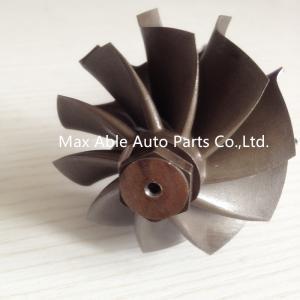 China GT35 journal bearing turbine shaft 62.35X68mm 134mm length on sale