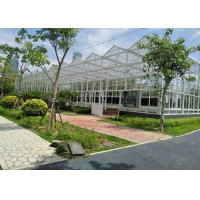 Best Muti Span Plant Grow 10mm Polycarbonate Cover PC Greenhouse wholesale