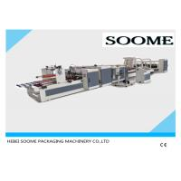 Best Automatic High Speed Stitching Folder Gluing Machine For Corrugated Paper Box wholesale