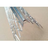 China 5cm Wing 2.7m Length Plaster Angle Bead Hot Galvanized Plate Material on sale