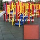 China Exterior gym / playground / swimming pool interlocking rubber tile dogbone crumb flooring on sale