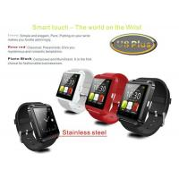 China Bluetooth 4.0 Android IOS support u8 plus smart watch , waterproof smart watch phone on sale