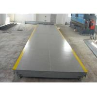 China High Accuracy Weighbridge Truck Scale , Industrial Floor Weighing Scale on sale