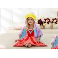 China Baby Dress Hooded Beach Towels Dorable Design With Highly Absorption on sale