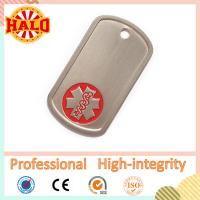 Buy cheap Colored aluminum cheap dog tag necklaces embossing product
