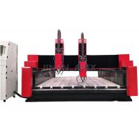 Best Glass / Stone CNC Router Machine Seamless Welded Steel Structure Water Cooling Spindle wholesale