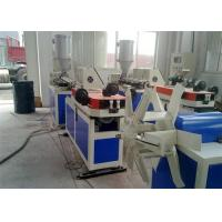 China pvc Plastic Corrugated Pipe Production Line Twin Screw Extruder , PVC Pipe Extrusion Machine / PVC Extruder on sale
