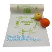 Cheap Biodegradable Plastic Bags Food Waste Caddy Liner Eco Friendly Vacuum Seal for sale