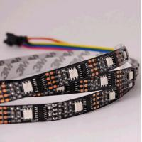 Best madrix ws2801 ic rgb smd black pcb led flexible strip wholesale