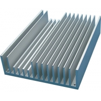Best Mill Finish  0.8mm Frequency Conversion Radiator Aluminum Profiles wholesale