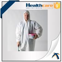 Buy cheap 2020-nCov new Coronavirus 25G PP White Disposable Coveralls With Hood And Shoe from wholesalers